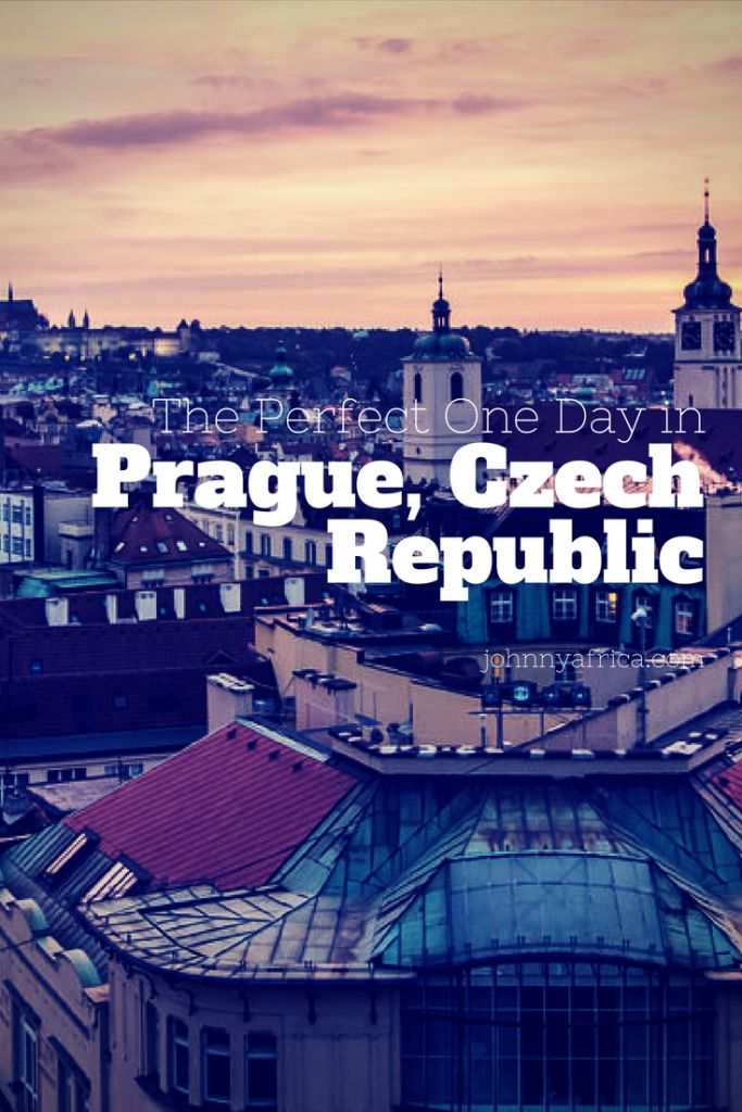 The Perfect way to spend a day in the beautiful city of Prague, Czech Republic! #prague #czechrepublic
