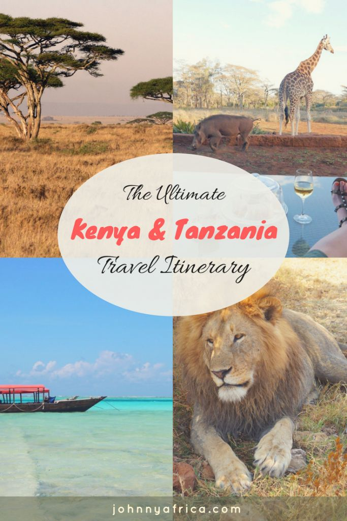 Kenya and Tanzania are the ultimate bucket list items for travelers seeking the best safari experiences. Whether it\'s the Great Migration, Climbing Mount Kilimanjaro, or the pristine beaches of Zanzibar, these places have it all. #kenya #tanzania #safari #travelitinerary #masaimara #serengeti #zanzibar #ngorongorocrater #big5