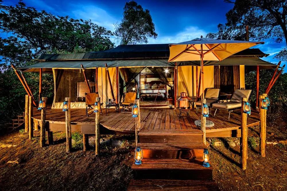 luxury lodge sand river masai mara kenya