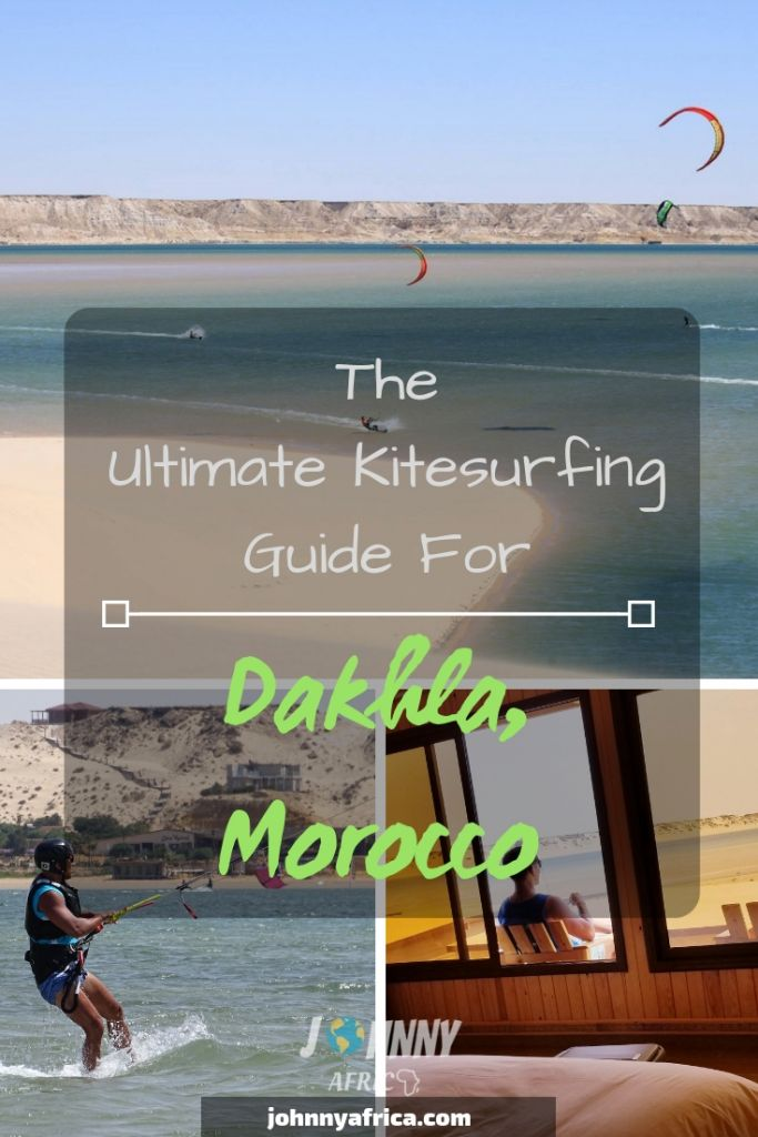 Dakhla, Morocco is considered one of the best and most bucket list worthy kitesurf destinations in the world. It has year round wind, dramatic desert scenery, and some of the best conditions you can ask for. I spent a week here learning to kite and this is a comprehensive guide I've put together for the region. #dakhla #kitesurf #kiteboarding #kiteboard #kitesurfing #morocco