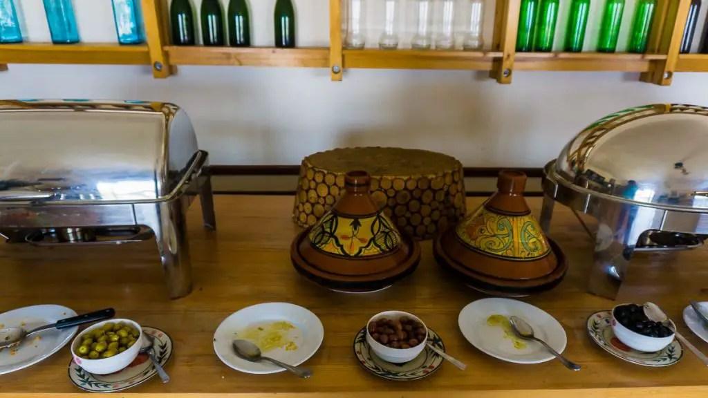 Dakhla Evasion kitchen and foods