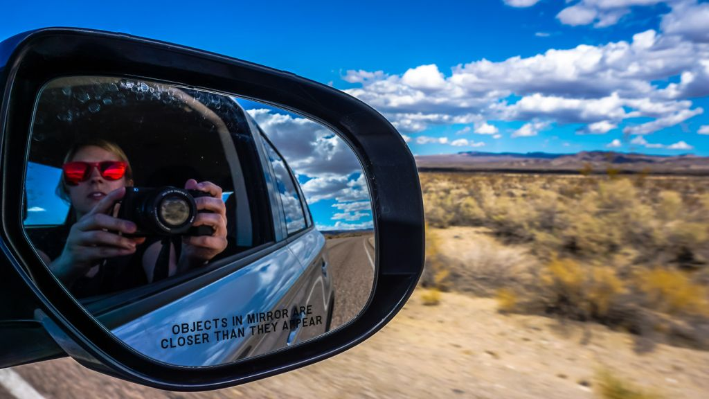 driving to Death Valley