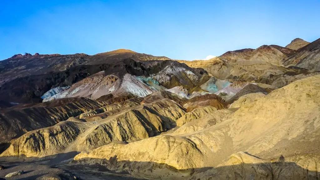 artist palette death valley mountain