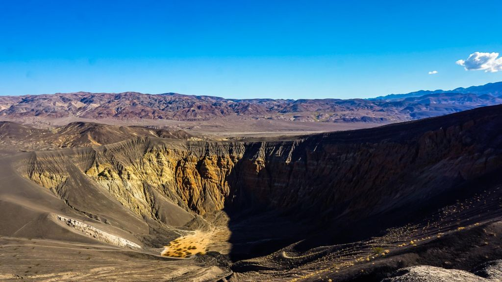 Ubehebe Crater Death Valley California