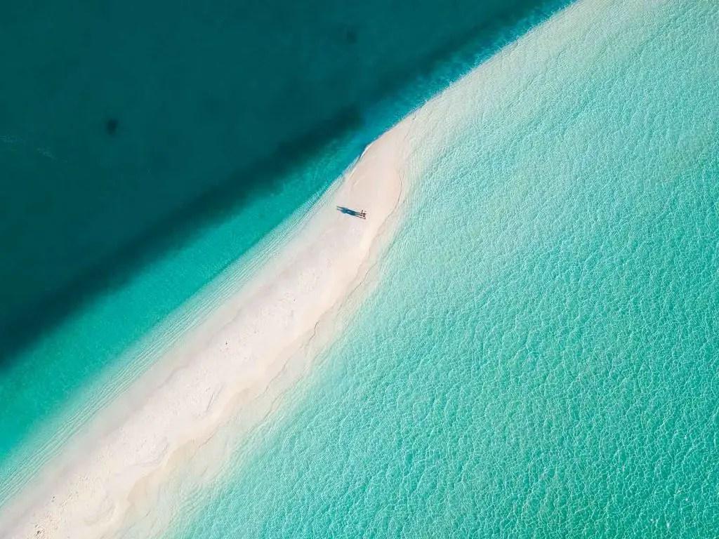Sandbank maldives beautiful