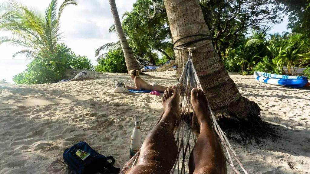 Maldives thoddoo beach