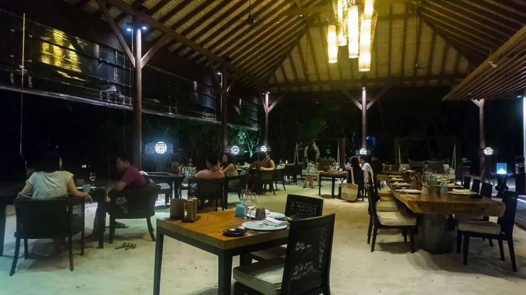 Island grill restaurant park hyatt hadahaa