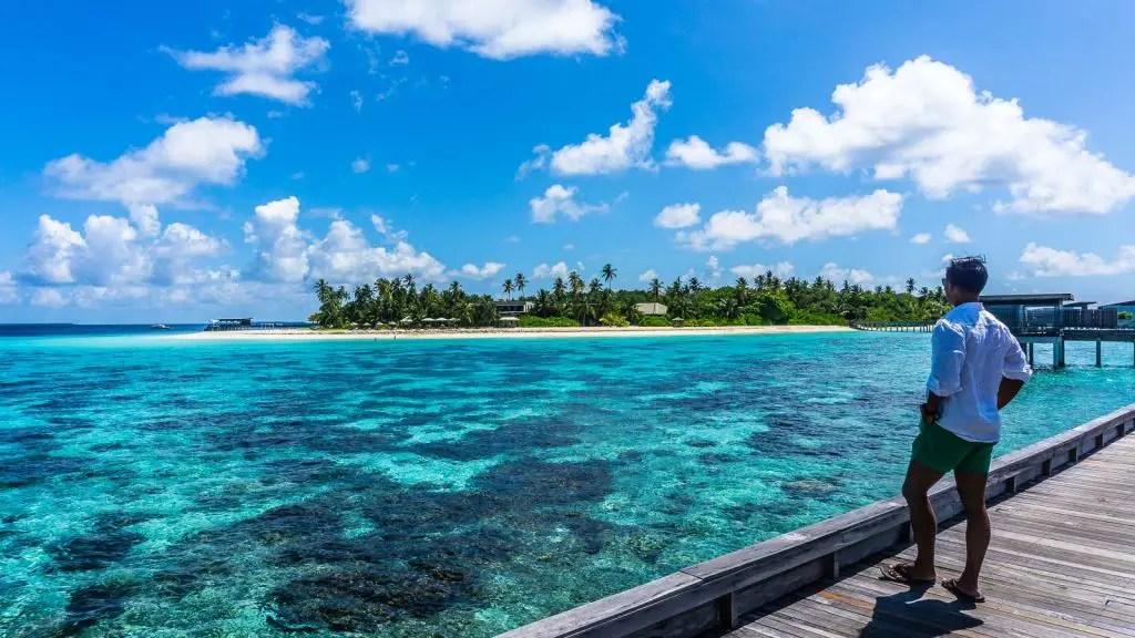 Amazing beaches in the Maldives at the Park Hyatt Hadahaa
