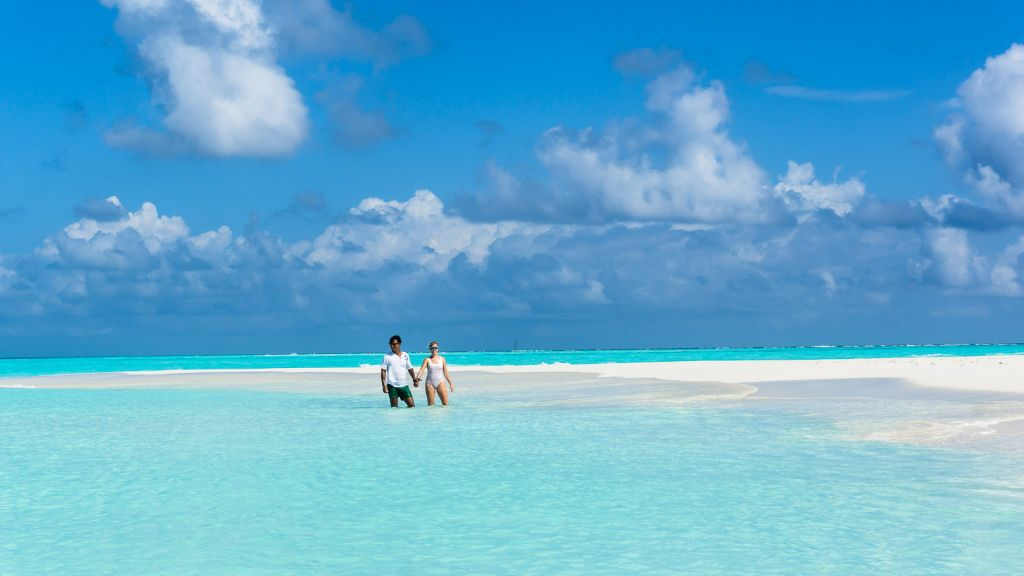 Maldives Sandbank Baa Atoll Beach