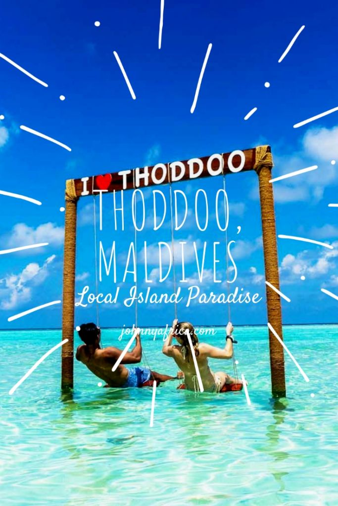 Local Islands can offer a equally beautiful but much cheaper experience in the Maldives. I visited Thoddoo for a few days and experienced just that as the beaches were out of this world. Traveling the local islands is something I\'d recommend every Maldives traveler to see! #maldives #beaches #diving #localislands