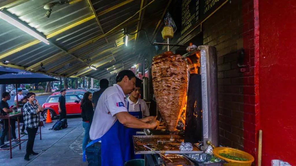 El Vilsito Al pastor mastery Mexico city