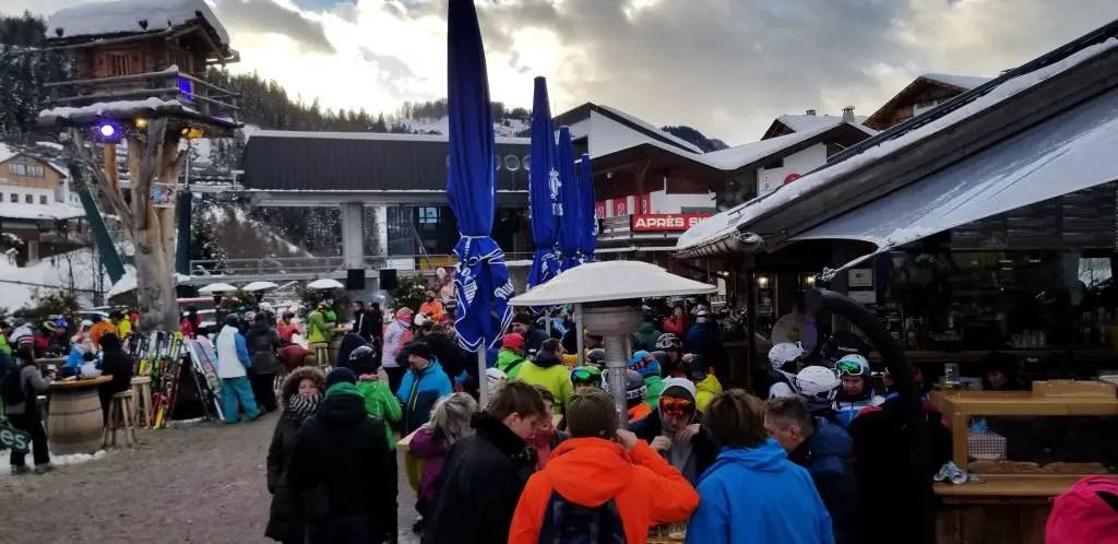 Apres Ski in Saslong
