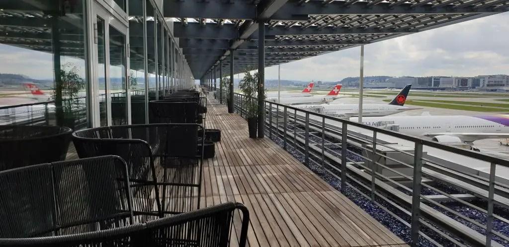 Primeclass lounge Viewing Deck Zurich