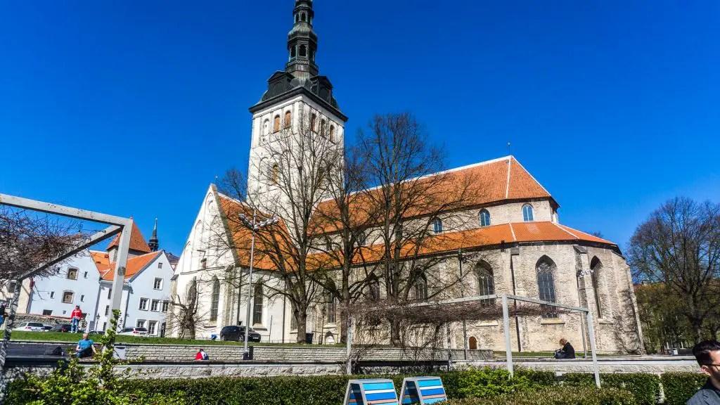 St. Nicolas Church Tallinn Estonia