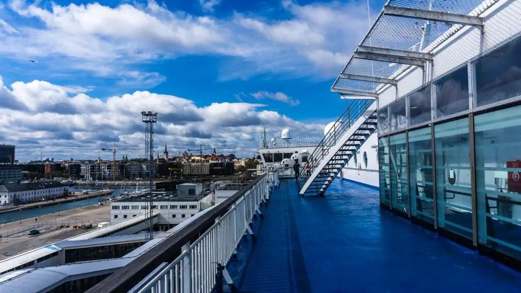 Ferry from Tallinn to Helsinki Eckero