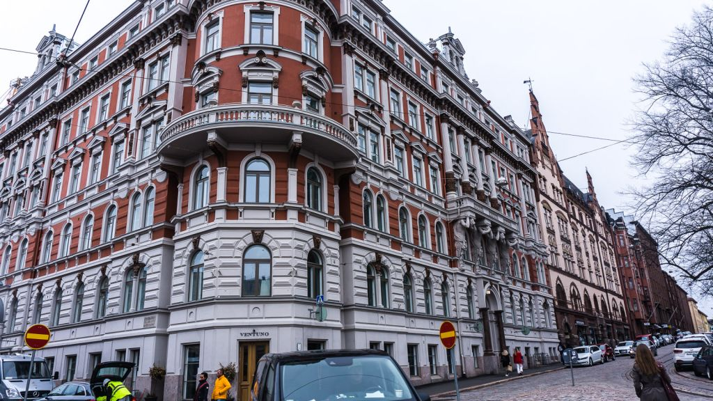 Helsinki Finland buildings