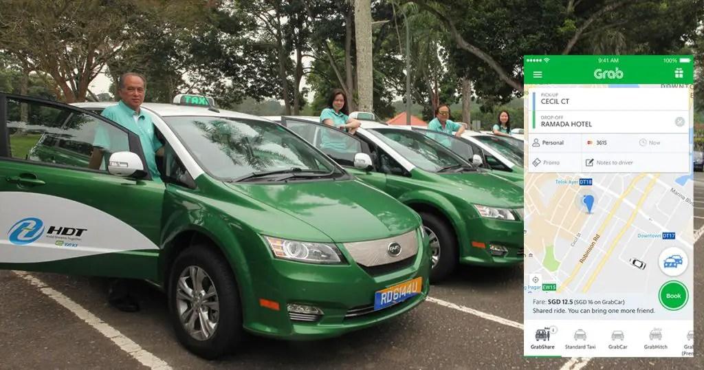 Grab Taxi fleet