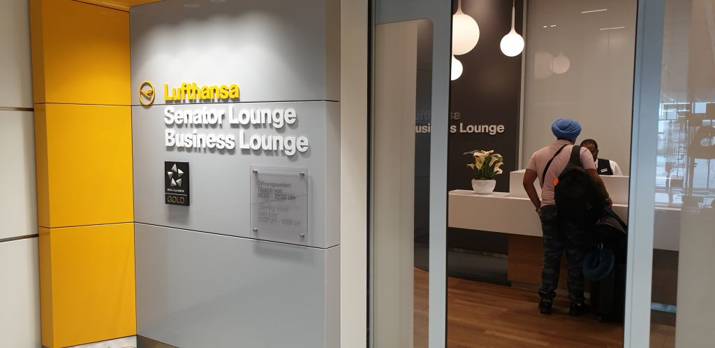 Lufthansa Munich Terminal 2 business lounge