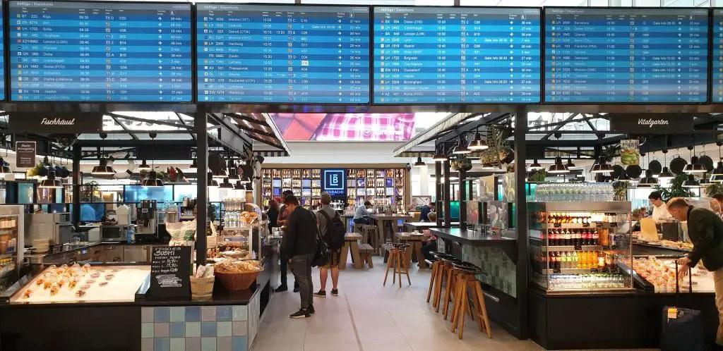 Terminal 2 del aeropuerto de Múnich