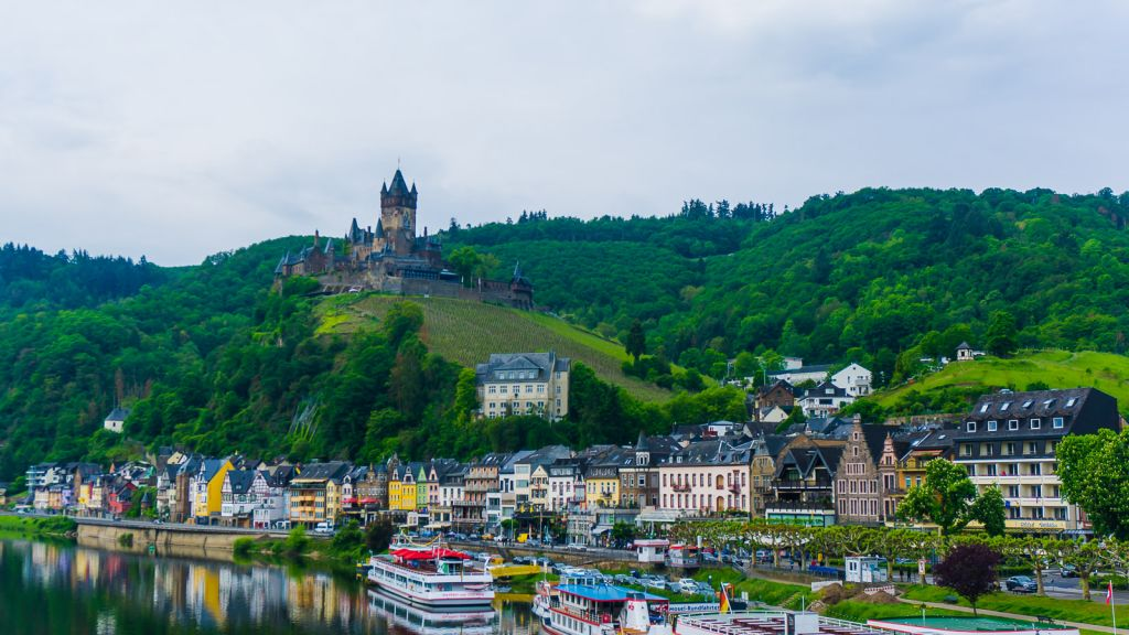 Amazing views of the Cochem