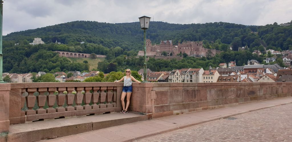 Old bridge heidelberg germany
