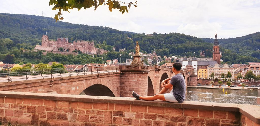 Heidelberg old bridge views