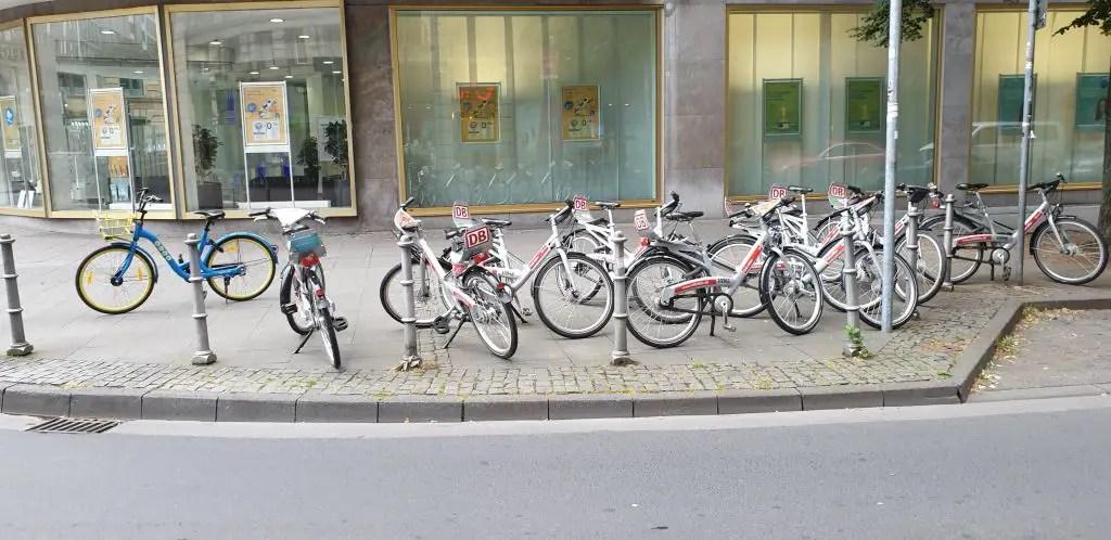 DB call a bike germany bike share