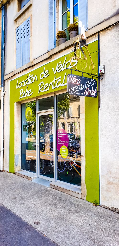 Beaune bike rental shop randonnees
