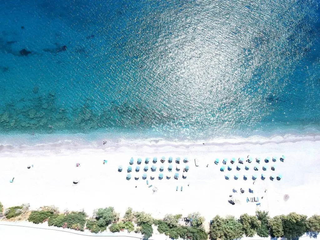 Beautiful beaches abound in Crete