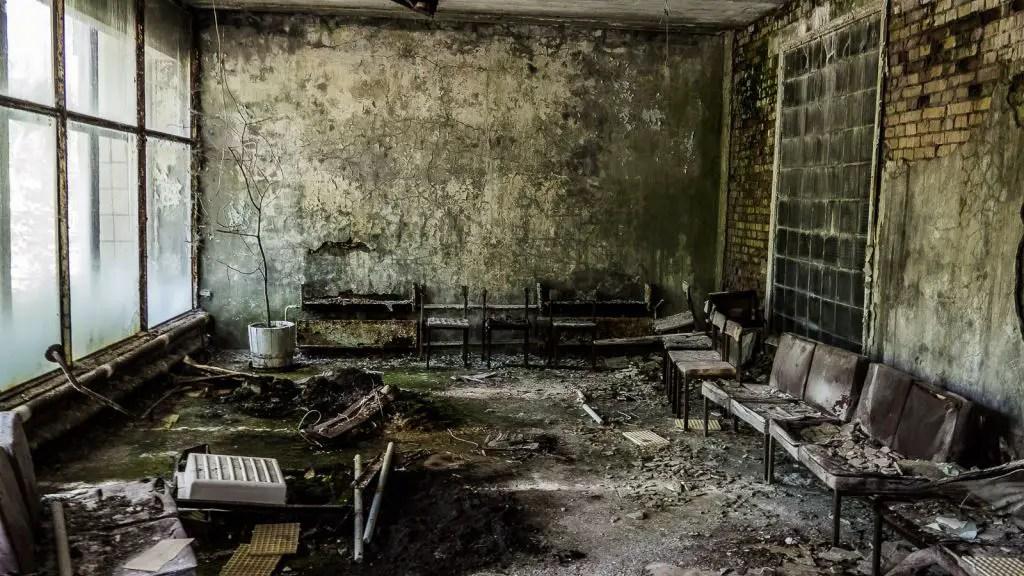 hospital pripyat chernobyl ukraine