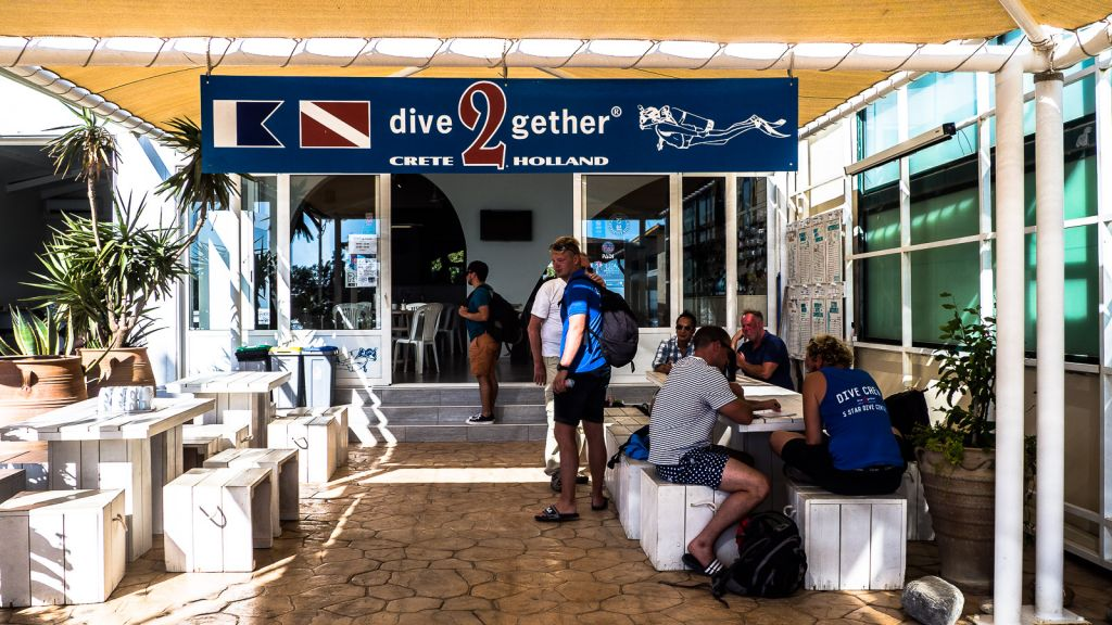 Dive2gether in Crete