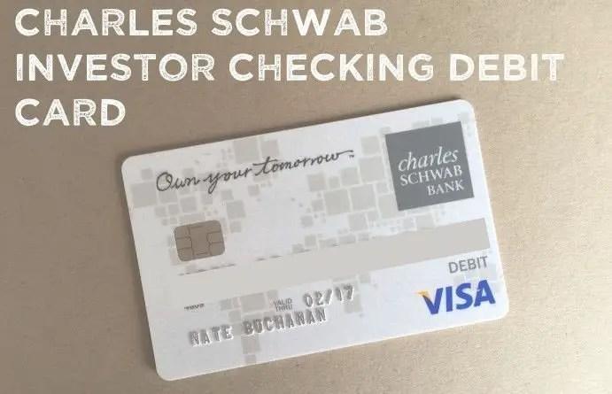 schwab checking account