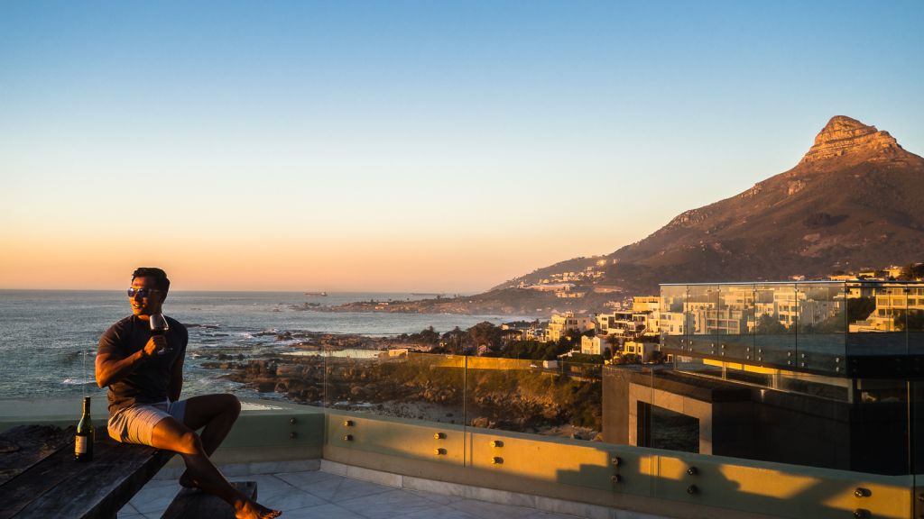 Houghton views camps bay hotel views lion's head