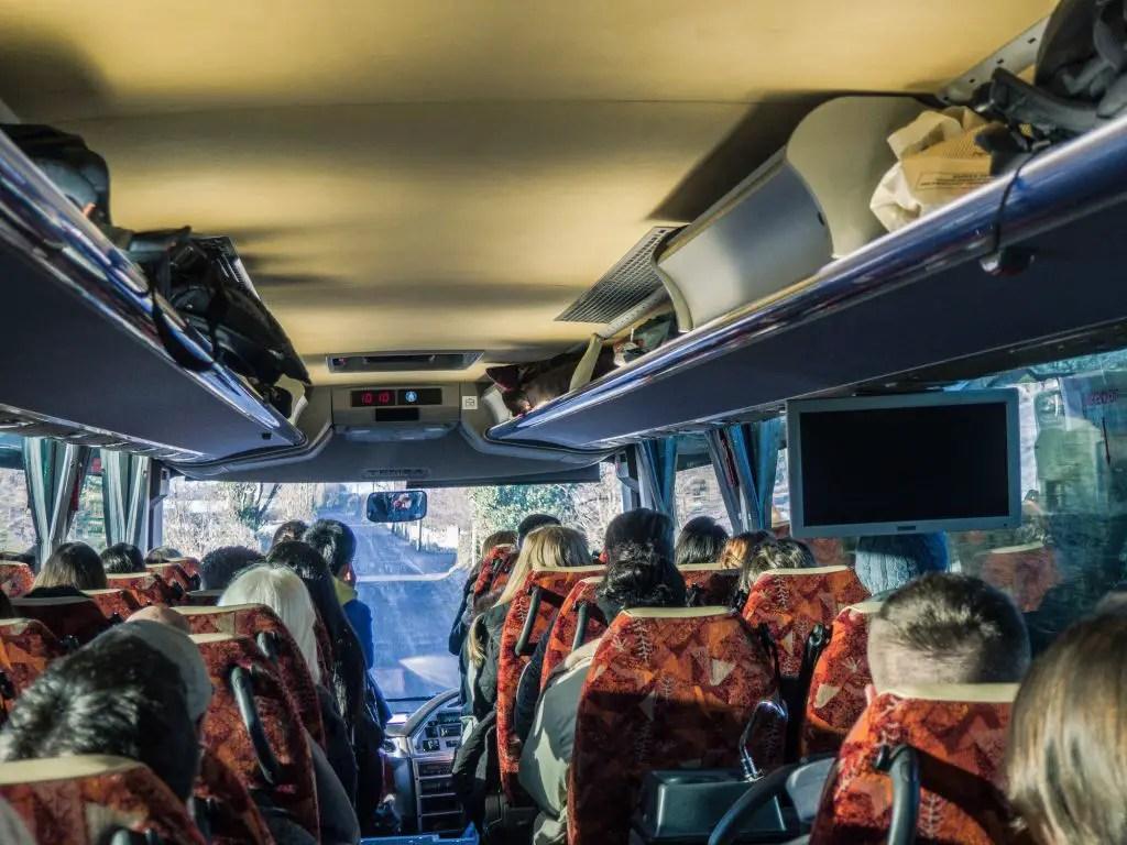 Bus cliffs of moher tour paddywagon