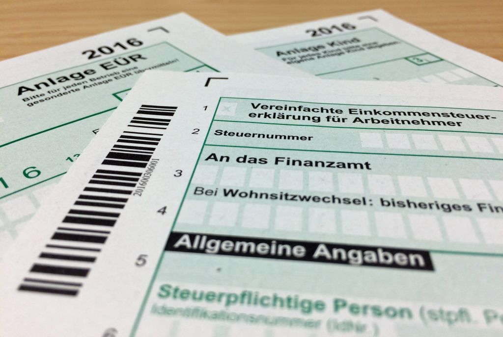 german tax returns
