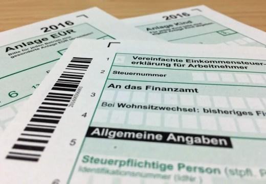 german tax returns