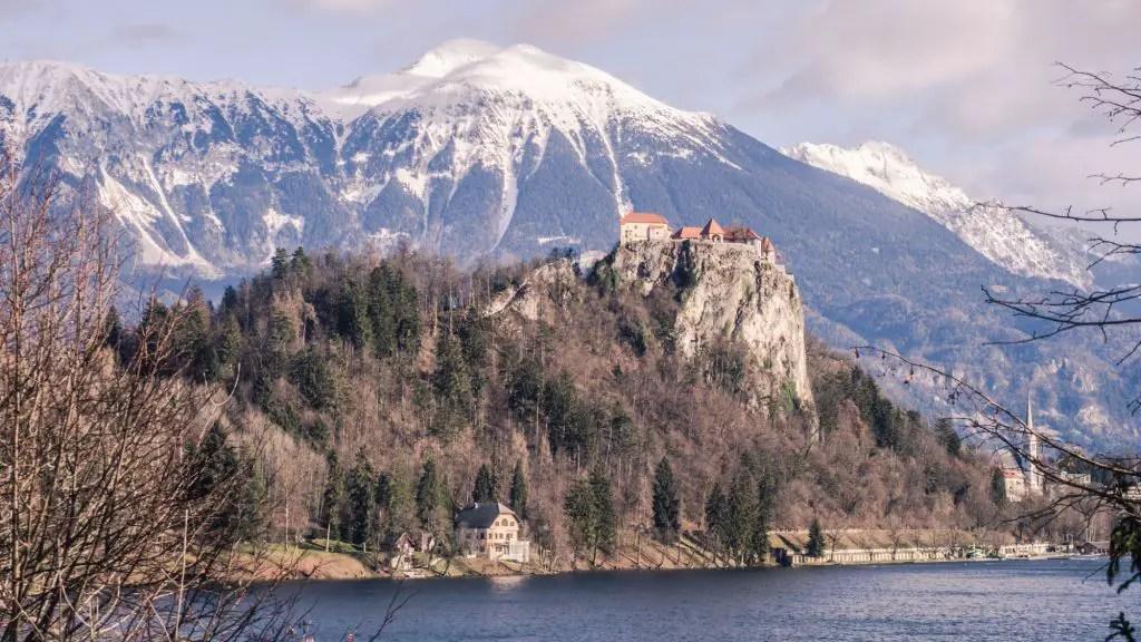 Bled castle lake bled