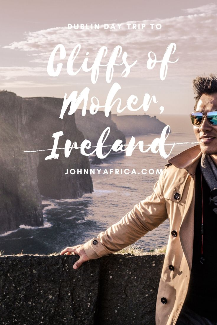 The Cliffs of Moher are one of Irelands most stunning natural formations. From Dublin, it\'s an easy day trip to visit the wild Atlantic coast on Ireland\'s west. This is how I went about doing it!