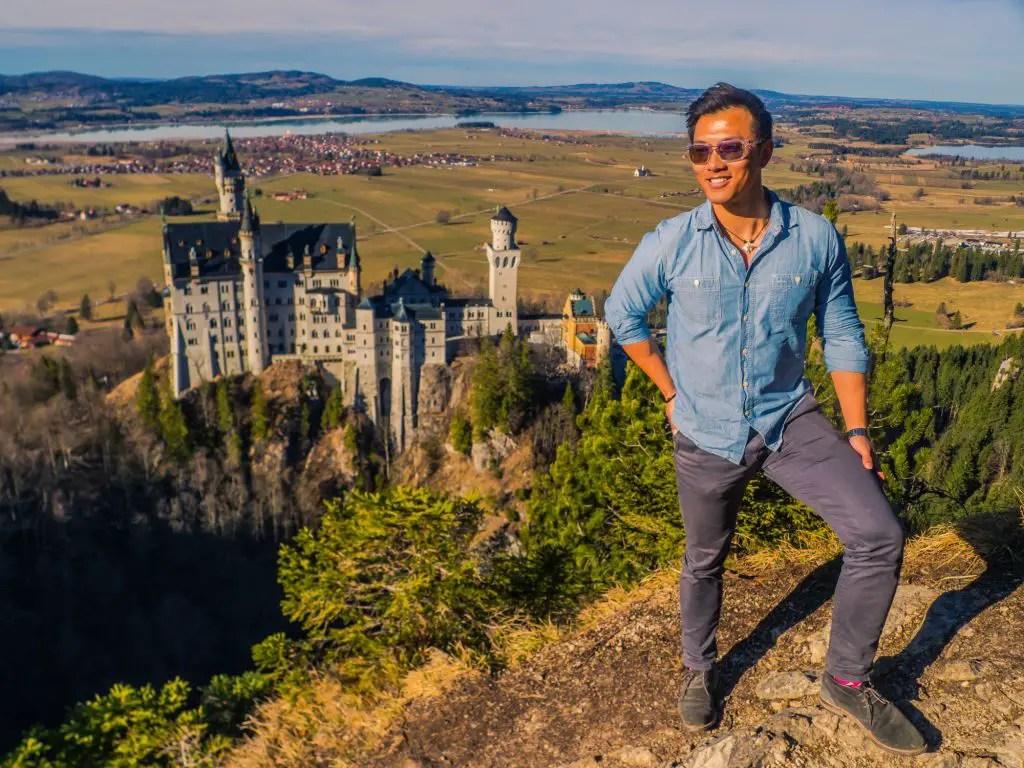 Neuschwanstein Castle viewpoint