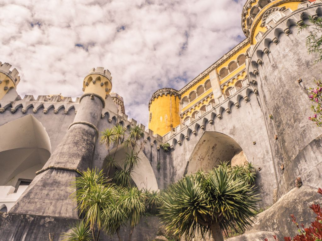 Sintra Castle Lisbon Portugal