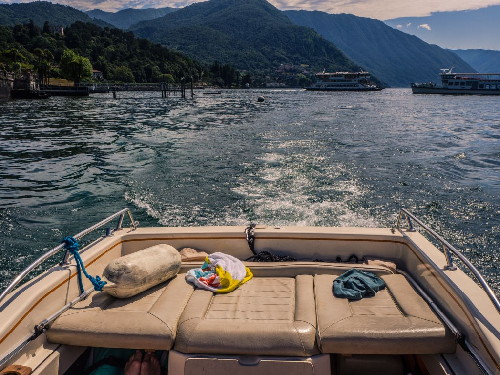 Lake Como by Boat