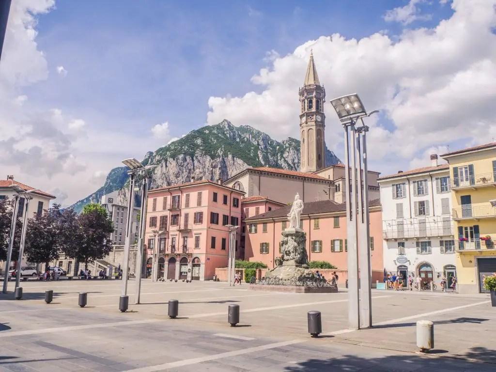 Lecco TOwn Lake Como