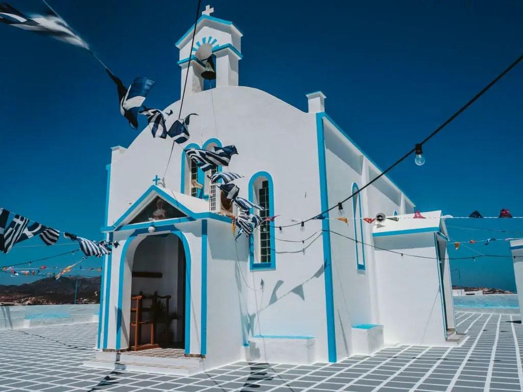 milos church