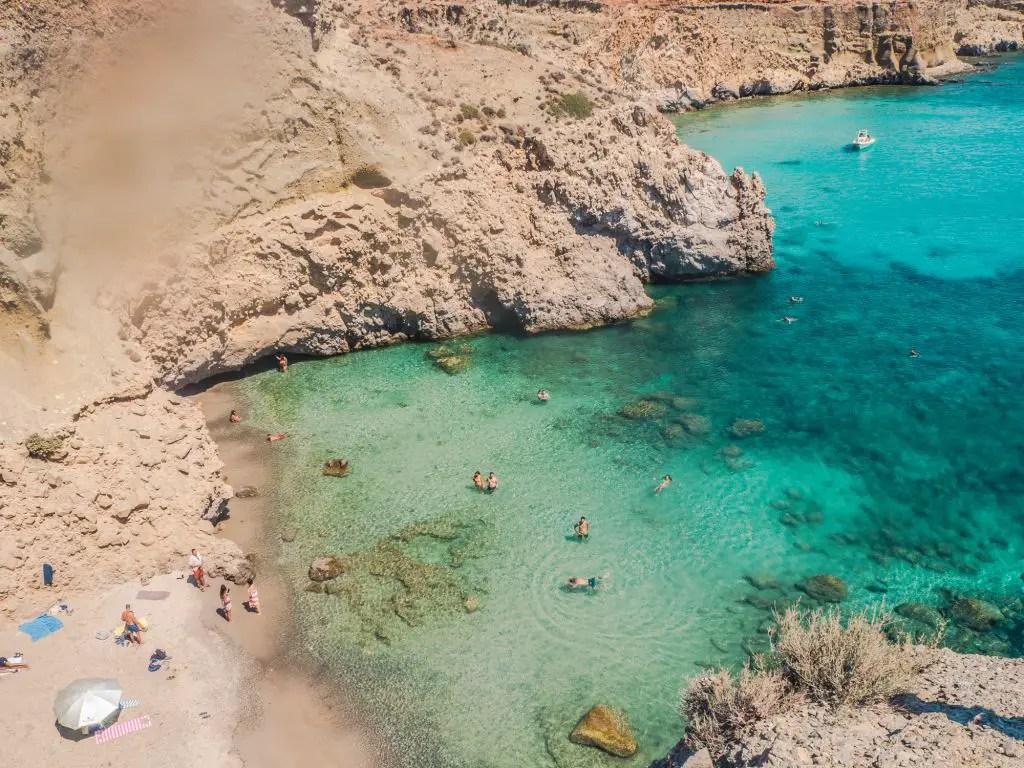 Tsigrado Beach Milos
