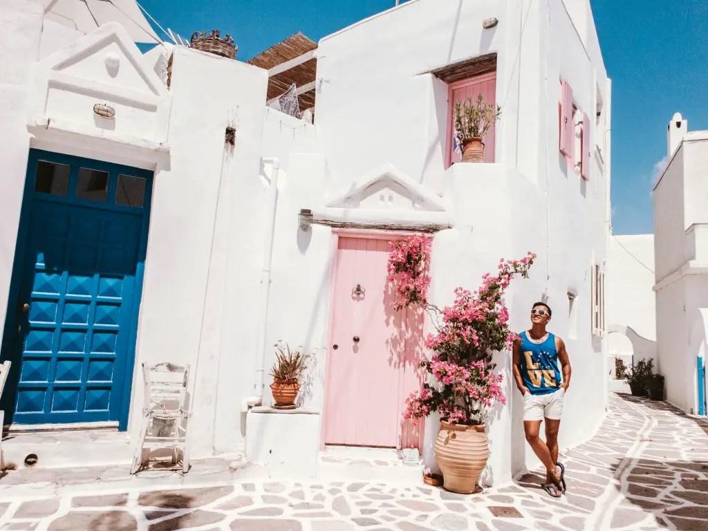 Paros Marpissa Pink house