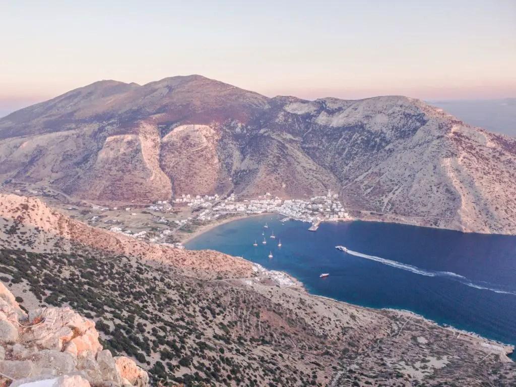 Kamares Town Sifnos