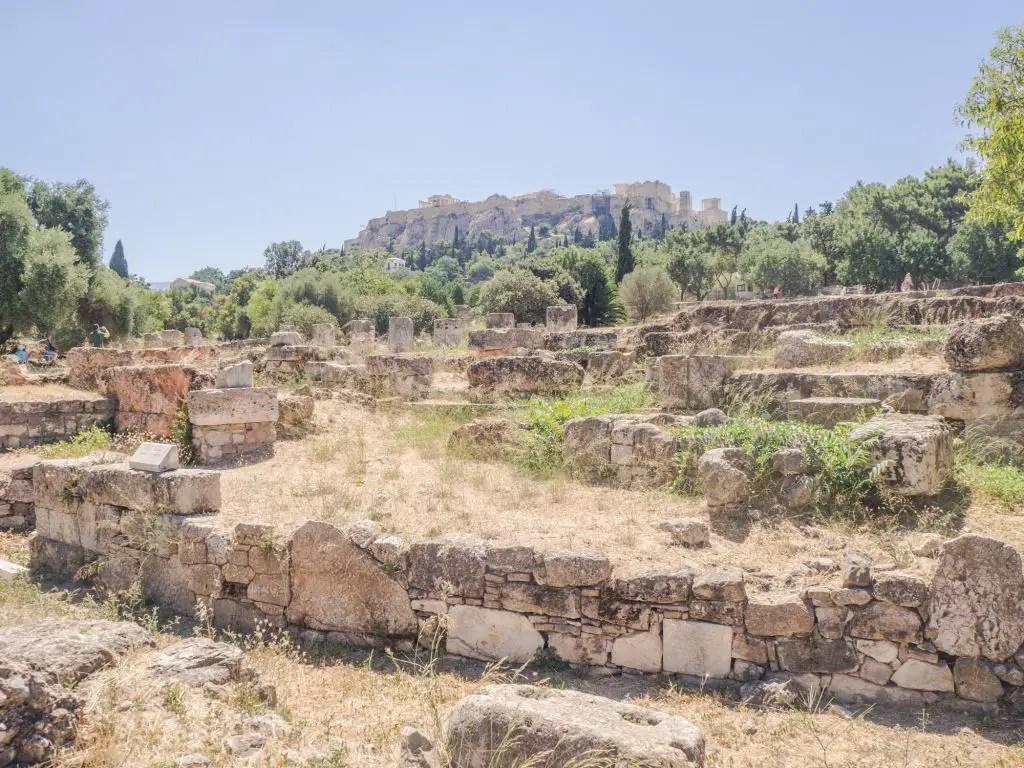 Temple of Agora Athens
