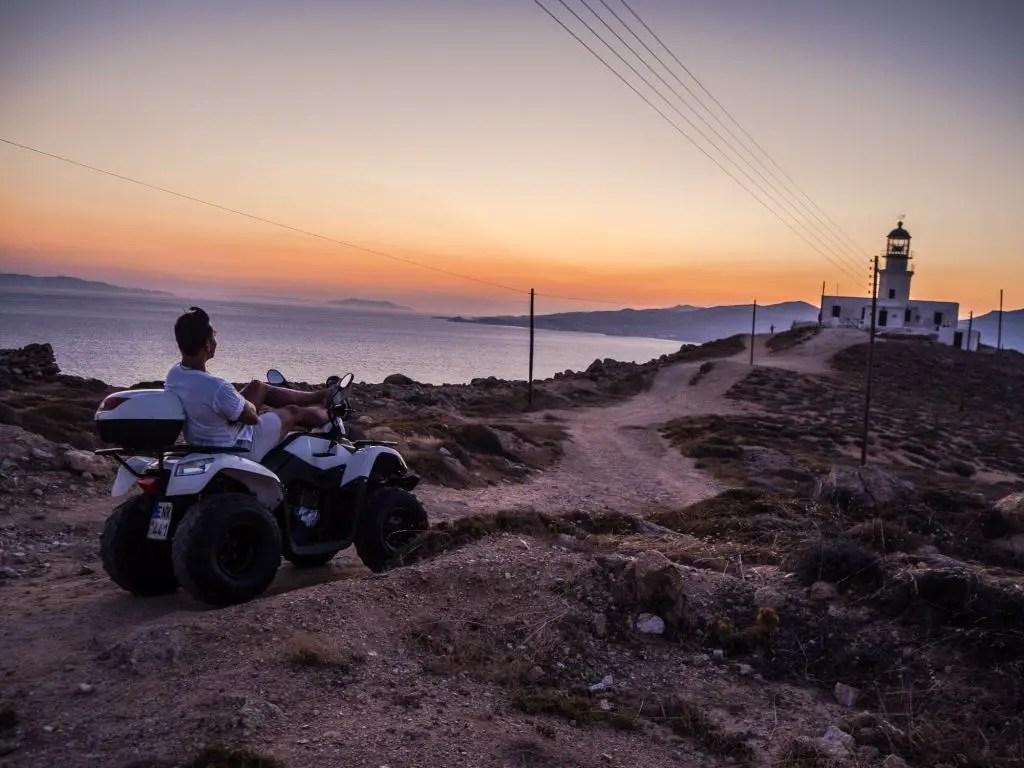 ATV rental mykonos greece