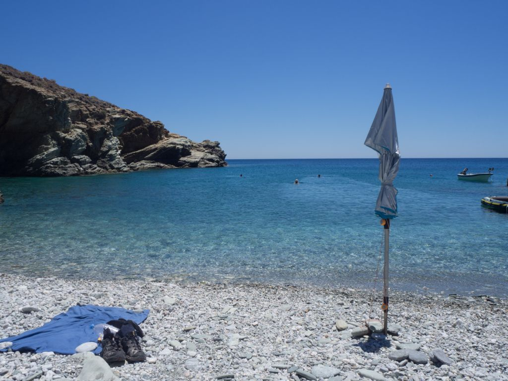 Folegandros nude beach galifos