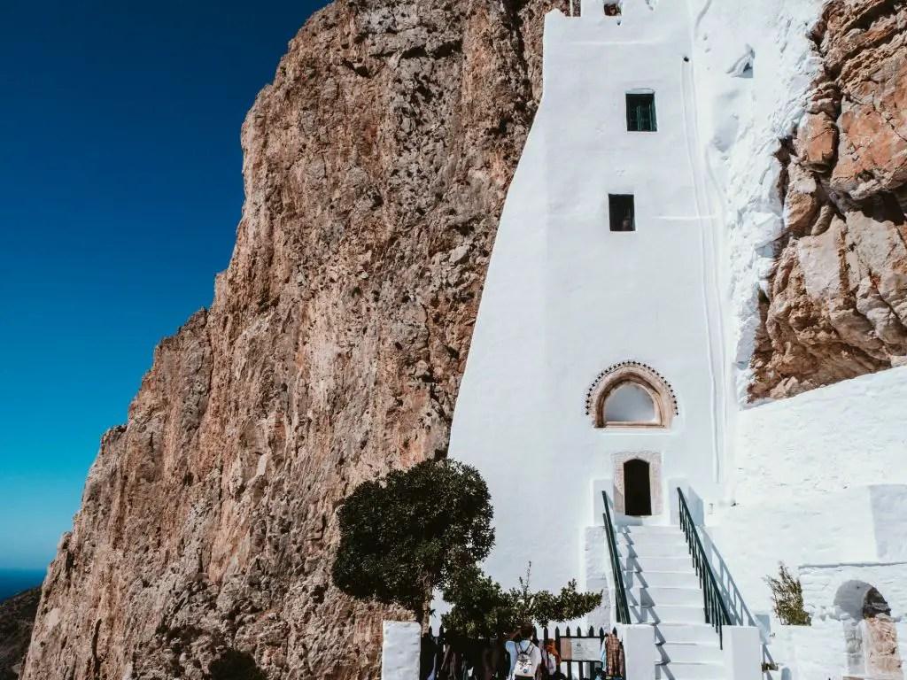 Panagia Hozoviotissa Monastery amorgos greece